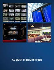 Download AV Over IP White Paper