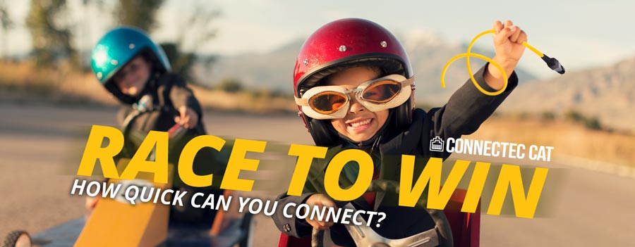 Race to Win: How Quick Can you Connect? Show Off Your Install Skills and WIN BIG!
